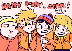 The Boys are here South Park Funny, Kyle South Park, South Park Memes, South Park Anime, South Park Fanart, Adventure Time, Bane Of My Life, Mean Friends, Stan Marsh