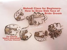 Mehndi Peacock Designs Drawings : Mehndi class for beginners different basic styles of drawing