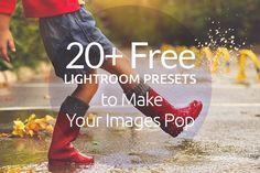 20  Free Lightroom Presets to Make Your Images Pop