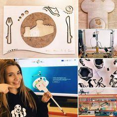 A day at @fablablazio in Bracciano the Italian Agri-food Fablab! Thanks to Serena & Mauro! #eufoodmakersontour #foodinnovation #precisionfarming #sensors #lasercut #3dprinters #housegardening #arduino #3dprintedchocolate by eufoodmakers