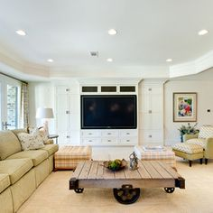 eclectic family room by Insidesign