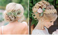 rustic bridal braid