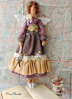"""Куклы Тильды ручной работы. Ярмарка Мастеров - ручная работа Тильда швея. """"Шей моя иголочка..."""". Handmade."""