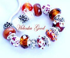 Pandora Style bracelet, my shop helenkagood.livemaster.ru
