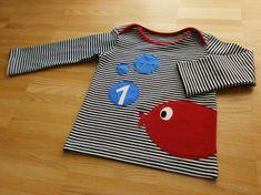 Edeltraud mit Punkten: Fisch-Geburtstagsshirt