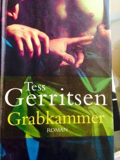 Ich kann einfach nicht genug von ihr bekommen...Ich❤️ Tess Gerritsen!! 16. Buch für diese Jahr!!
