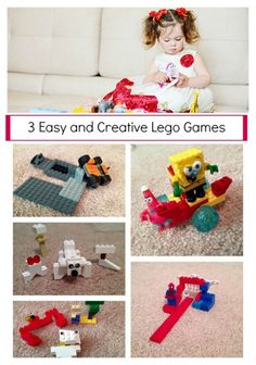 Children love to play with Legos and blocks, so why not change it up a bit and play games with them! Try these game variations with your kids from Positive Parenting author, Rebecca Eanes.