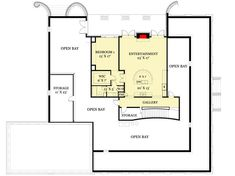 Plan Southern Beauty with Dual-level Wraparound Balconies Beach House Floor Plans, House Plans, Second Story, Spiral Staircase, Walk In Closet, Wrap Around, Balconies, Full Bath, Master Suite
