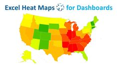 Dynamic Excel Heat Maps for complex data dashboards