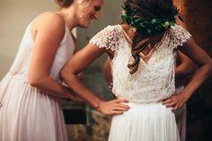 Sparkly Wedding Dresses Romantic A-line V-neck Beading Sexy Chiffon Bridal Gown Sparkly Brautkleider Romantische A-Linie V-Ausschnitt Perlen Sexy Chiffon Br - annapromdress Bohemian Beach Wedding Dress, Rustic Wedding Gowns, V Neck Wedding Dress, Bohemian Wedding Dresses, Cheap Wedding Dress, Bridal Dresses, Dress Beach, Chiffon Dresses, Wedding Dress Topper