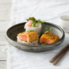 Try our delicious Miso, Orange and Ginger Huon Salmon recipe prepared with Huon Aquaculture products.