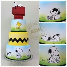 Snoopy - Peanuts cake Love this!