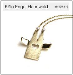 Der Kölner Dom Schutzengel aus Gold
