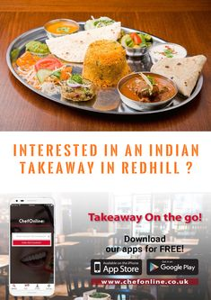 If you're interested in an Indian Takeaways Near Redhill. Finding some delicious local Indian food is as simple. Place your order with ChefOnline & you'll be enjoying a gourmet Indian takeaway feast at home. Indian Food Recipes, Ethnic Recipes, Durham, Restaurant, Breakfast, Simple, Gourmet, Twist Restaurant, Indian Recipes