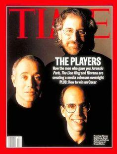 Time - David Geffen, Steven Spielberg & Jeffrey Katzenberg - Mar. 27, 1995 - Directors
