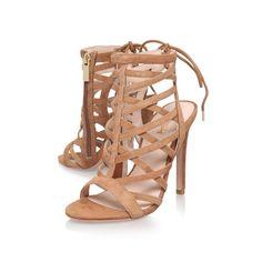 gracie tan high heel sandals from Carvela Kurt Geiger