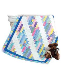 "My Favorite Quilt Pattern from annies.  easy lc type quilt 6 strips of 2""  could be cut in strips, too.... mm"