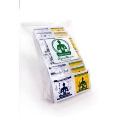 Yogini Cleanies - Organic Body Wipes: Small Size (4x8) 120 Ct Multi Pack Bag 60 Lavender and 60 Lemon Grass Wipes