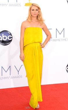 Emmy Awards, Claire Danes 2012