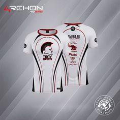 Archon Clothing - Jersey's and Presentations on Behance Troy, Cricket Uniform, Graphic Design Branding, Online Portfolio, Adobe Photoshop, Adobe Illustrator, Presentation, Behance, Clothing