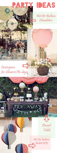 Hot Air Balloon Ideas + Printable « Spearmint Baby
