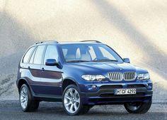 2004 BMW X5 (maybe silver/white/black)