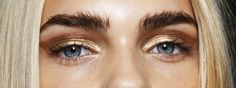 Line Brems backstage atAlexis Mabille S/S 2015 - i live my life by the moon