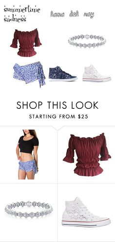 """""""lana del ray"""" by badwitch-69 on Polyvore featuring Converse and Veja"""