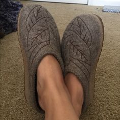 Haflinger Leaf Clogs Lead design, clogs, like new condition Haflinger Shoes Mules & Clogs