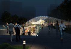 Propuesta Metro Station 20 / Zeybekoglu Nayman Associates   Plataforma Arquitectura