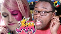 Truly Truly Truly Outrageous! Catching Up with Andre catches up with Jem and the Holograms to prepare for the Jem movie reboot coming to Regal Cinemas October 23, 2015. #Jem #JemAndTheHolograms
