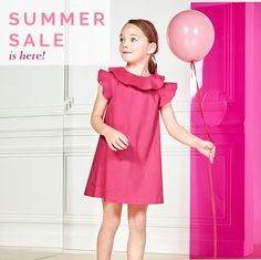 S U M M E R   S A L E   is here! ................................................... https://www.jacadi.co.uk/summer-sale-ss17.html  Discover the range of items with  50%     30%     20%      DISCOUNT  Dresses for child girl from........£28 Shoes for child girl from ..........£28   DELIVERY available within England Standard delivery £2.80 Next Day Delivery from £9  Leave you requests in comments...  CONTACT US: info@jacadi.co.uk