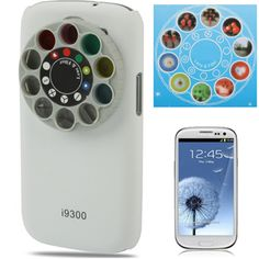 Special Lens & Filter Turret Case Cover for Samsung Galaxy SIII / i9300 (White) | eBay $10