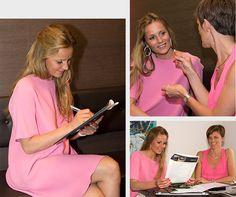 Joke van de Velde krijgt Smile Advies van de Smile Consulente - La Consultante Sourire donne Joke van de Velde des Conseils Sourire, 'Elle a répondu à toutes mes questions!'