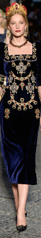 Dolce and Gabbana fall 2016 alta moda - couture