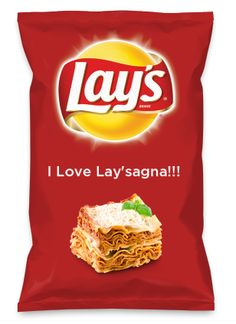 Wouldn't I Love Lay'sagna!!! be yummy as a chip? Lay's Do Us A Flavor is back, and the search is on for the yummiest flavor idea. Create a flavor, choose a chip and you could win $1 million! https://www.dousaflavor.com See Rules.