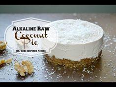 ALKALINE RAW COCONUT PIE | DR SEBI INSPIRED RECIPE - YouTube