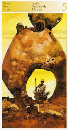Sergio Toppi. Tarot of the Origins