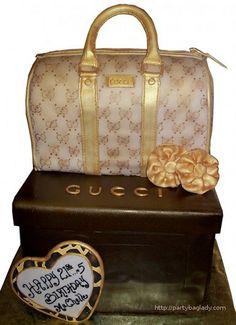 Le gâteau Gucci