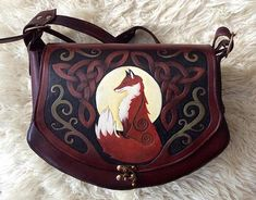 Celtic Fox Bag
