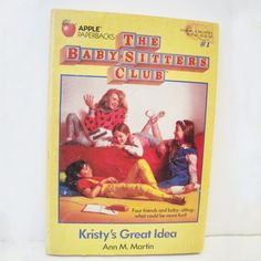 Babysitters club...funny article!