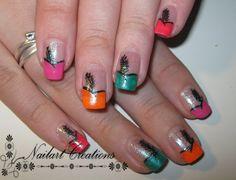 [Nailart] Gekleurde Zwarte Pieten Mutsen! - Nailart Creations