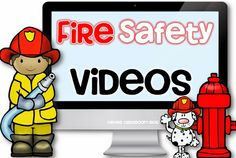 Fire Safety Week Videos and Resources from Clever Classroom Fire Safety Week, Fire Prevention Week, Community Helpers Preschool, Preschool Activities, Preschool Fire Safety, Fall Preschool, Preschool Education, Preschool Curriculum, Physical Education