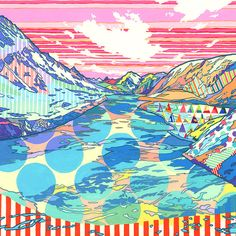 Asakura Kouhei (Japan) Japanese artist Asakura Kouhei grew up close to nature, in a place rich with greenery and filled with surprises. Inspired by the natural surroundings of his childhood, he focuses on translating nature's journey through watercolour, coloured pencil and unique color and pattern combinations.