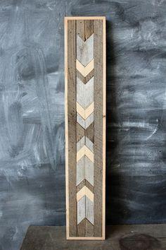 Navajo Tribal Geometric Wood Patterned Wall Panel