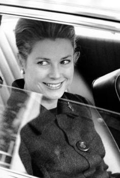 Princess Grace Kelly arrives for the International Red Cross Conference on October 2, 1965 in Vienna, Austria. (Photo © Ron Galella)