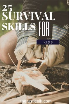 We strive to ensure our children have the best chance at making great lives in adulthood. However, many overlook the importance of basic survival skills. Here are 25 skills all kids should learn to survive.