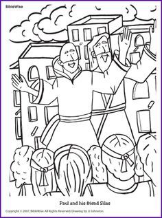 Apostles Coloring Pages Bible Printables New Testament 40 NT 017htm