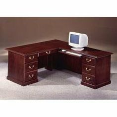 furniture home office desks on pinterest cherry finish