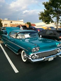 1958 Chevy Impala...Re-pin...Brought to you by #CarInsurance at #HouseofInsurance in Eugene, Oregon